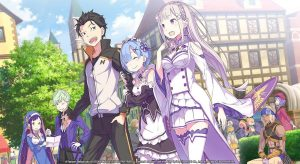 Re:ZERO - Starting Life in Another World: The Prophecy of the Throne, Nintendo Switch, Switch, PS4, PlayStation 4, features, price, pre-order, Europe, Numskull Games, Spike Chunsoft, Re:Zero - The Prophecy of The Throne, Re: Zero, Re:ZERO - Starting Life in Another World, Key Visual, Key Art, Key Artwork