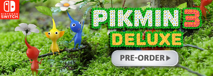 Pikmin 3 Deluxe, Pikmin 3 Switch, Switch, Nintendo Switch, North America, Europe, Nintendo, release date, features, trailer, screenshots, Japan, Pre-order now, new trailer, Pikmin 3 [Deluxe Edition]