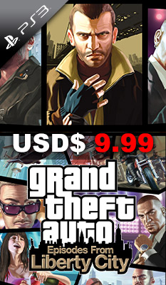 GRAND THEFT AUTO: EPISODES FROM LIBERTY CITY (GREATEST HITS) Rockstar Games
