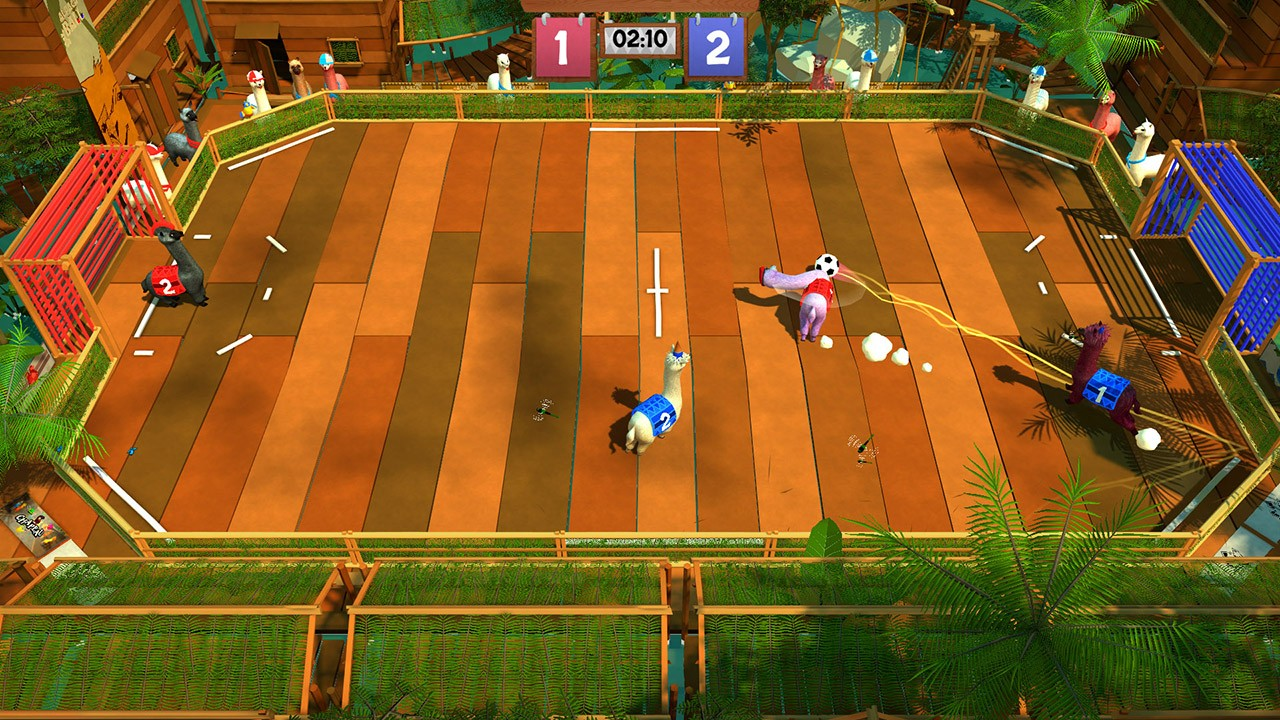 Alpaca Ball: Allstars, Nintendo Switch, release date, gameplay, features, trailer, Switch, Asia, English, multi-language