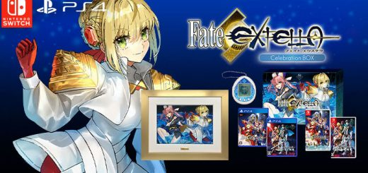 Fate / EXTELLA Celebration BOX, Fate/Extella: The Umbral Star, Fate/Extella Link, Fate/EXTELLA, Fate/EXTELLA Celebration BOX, Nintendo Switch, Switch, Japan, PS4, PlayStation 4, ふぇいとえくすてら せれぶれいしょんぼっくす, Marvelous, gameplay, features, release date, price, trailer, screenshots
