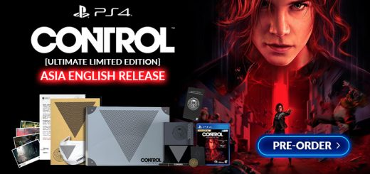 Control, Control Ultimate Asia Limited Edition, Control [Ultimate Limited Edition], PlayStation 4, PS4, gameplay, features, release date, price, trailer, screenshots, 505 Games, Remedy Entertainment, Control Limited Edition, Control Collector's Edition, Asia English, Asia