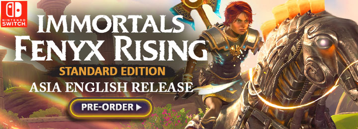 Gods and Monsters, Immortals Fenyx Rising, Immortals: Fenyx Rising (English), Immortals: Fenyx Rising English, Standard Edition, release date, gameplay, features, price, Nintendo Switch, Switch, trailer, Ubisoft, Asia English, Asia, Immortals: Fenyx Rising w/ Steel Case