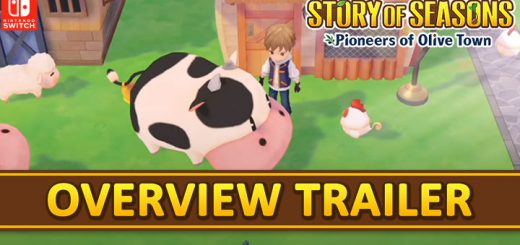 Story of Seasons, Marvelous, Story of Seasons: Pioneers of Olive Town, gameplay, features, release date, price, trailer, screenshots, Switch, Nintendo Switch, update, overview trailer, Japan