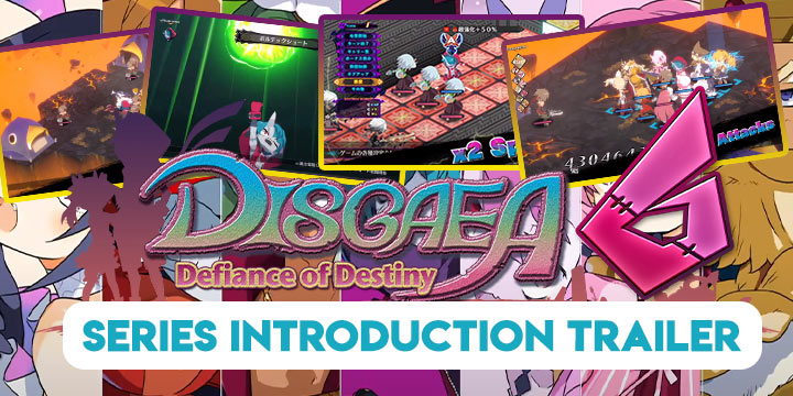 Disgaea, Disgaea 6, Disgaea 6: Defiance of Destiny, Nippon Ichi Software, Switch, Nintendo Switch, Japan, PS4, PlayStation 4, release date, gameplay, features, price, screenshots, trailer, Standard Edition, Limited Edition, Disgaea 6 [Limited Edition], Second Trailer, Series Introduction Trailer, update