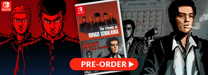 The Friends of Ringo Ishikawa & Arrest of a Stone, The Friends of Ringo Ishikawa, Arrest of a Stone, Nintendo Switch, Switch, Japan, gameplay, features, release date, price, trailer, screenshots, ザ フレンズ オブ リンゴ イシカワ & アレスト オブ ア ストーン ブッダ