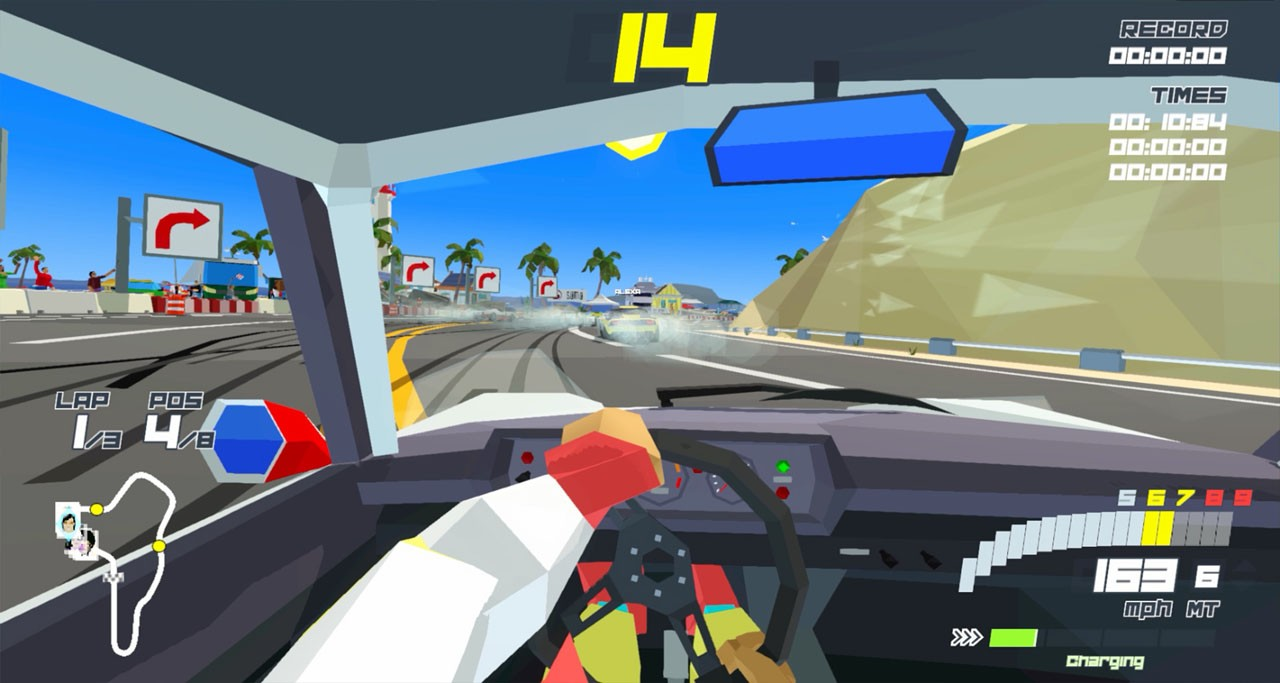 Hotshot Racing, Curve Digital, PS4, PlayStation 4, Nintendo Switch, Switch, Europe, release date, features, trailer, price, pre-order