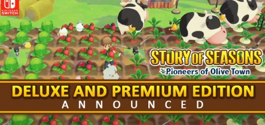 Story of Seasons, Marvelous, Story of Seasons: Pioneers of Olive Town, gameplay, features, release date, price, trailer, screenshots, Switch, Nintendo Switch, update, Japan, Premium Edition, Deluxe Edition