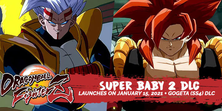 Dragon Ball, Dragon Ball FighterZ, PlayStation 4, Xbox One, Nintendo Switch, PS4, XONE, Switch, DLC, update, FighterZ Pass 3, release date, Bandai Namco, Arc System Works, Super Baby 2, Gogeta,