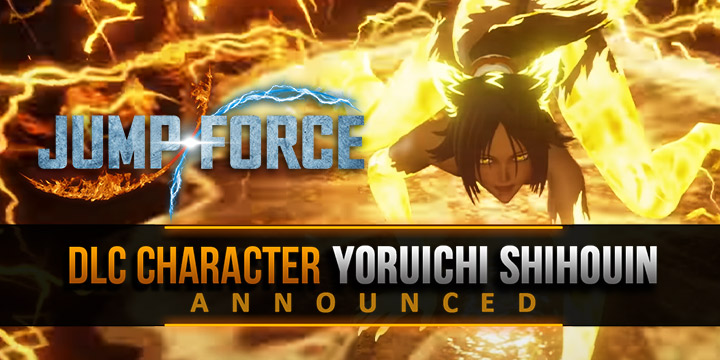 Jump Force, PlayStation 4, Xbox One, release date, gameplay, price, features, US, North America, Europe, update, news, DLC, DLC Character, Yoruichi Shihouin, Yoruichi Shihouin Bleach