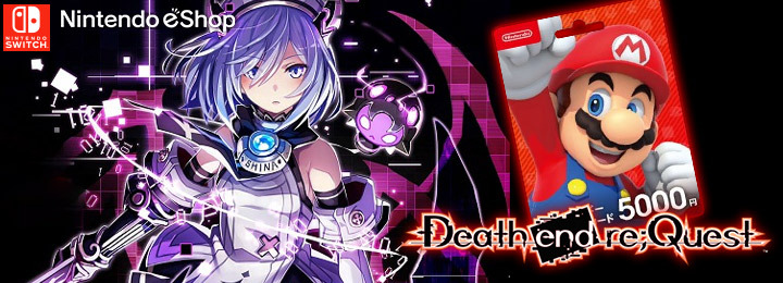 Death end re;Quest, Nintendo Switch, Switch, Japan, gameplay, features, release date, eshop, Nintendo eShop, update