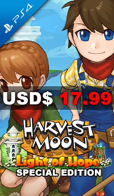 HARVEST MOON: LIGHT OF HOPE [SPECIAL EDITION] Rising Star Games
