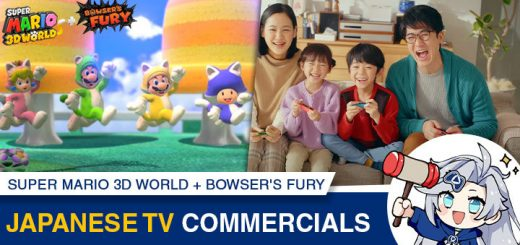 Super Mario 3D World, Bowser's Fury, Super Mario 3D World + Bowser's Fury, Nintendo Switch, Switch, Japan, US, Europe, gameplay, features, release date, price, trailer, screenshots, Nintendo, Mario, Super Mario, Japanese TV Commercial, TV commercial