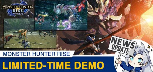 Monster Hunter Rise, Monster Hunter, pre-order, gameplay, features, price, Capcom, trailer, Nintendo Switch, Switch, Japan, US, Europe, update, demo, news