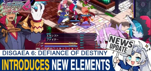 Disgaea, Disgaea 6, Disgaea 6: Defiance of Destiny, Nippon Ichi Software, Switch, Nintendo Switch, Japan, PS4, PlayStation 4, release date, gameplay, features, price, screenshots, trailer, Standard Edition, Limited Edition, Disgaea 6 [Limited Edition], news, update, Sixth Trailer, New Elements Trailer, Auto-Battle, Auto-Repeat