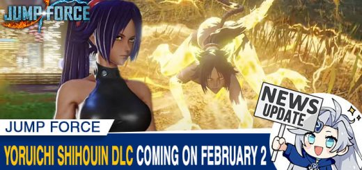Jump Force, PlayStation 4, Xbox One, release date, gameplay, price, features, US, North America, Europe, update, news,  DLC, Switch, Jump Force Deluxe Edition, Bleach, Yoruichi Shihouin, Japan, Asia