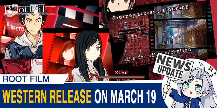 Root Film, PlayStation 4, Nintendo Switch, Japan, Kadokawa Games, ルートフィルム, PS4, Switch, features, gameplay, release date, screenshots, update, western release, US, Europe, PQube
