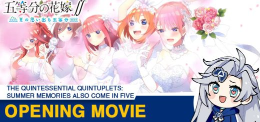The Quintessential Quintuplets ∬: Summer Memories Also Come in Five, The Quintessential Quintuplets, Gotoubun no Hanayome: Natsu no Omoide mo Gotoubun, The Quintessential Quintuplets Summer Memories Also Come in Five, Nintendo Switch, PS4, PlayStation 4, Japan, trailer, pre-order, standard edition, limited edition, MAGES, news, update, Opening movie, opening cutscenes