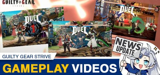 Guilty Gear -Strive-, Guilty Gear: Strive, Guilty Gear, PS4, PS5, PlayStation 4, PlayStation 5, US, North America, Launch Edition, Arc System Works, features, release date, price, trailer, Sol Badguy vs. Nagoriyuki, Ky Kiske vs. Giovanna, Axl Low vs. Ramlethal Valentine