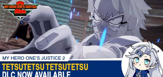 My Hero One's Justice 2, My Hero One's Justice, My Hero Academia, Boku no Hero Academia, PS4, PlayStation 4, Xbox One, XONE, Nintendo Switch, Switch, Bandai Namco Entertainment, Bandai Namco, Boku no Hero Academia: One's Justice 2, characters, update, Japan, Asia, features, gameplay, trailer, screenshots, update, DLC, Tetsutetsu Tetsutetsu