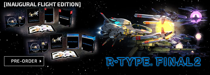 R-Type Final 2, R-Type 2021, PS4, PlayStation 4, West, US, North America, release date, price, pre-order, features, Trailer, Screenshots, Granzella, NIS America, Switch, Nintendo Switch, R-Type Final 2 [Inaugural Flight Edition], R Type Final II Inaugural Flight Edition