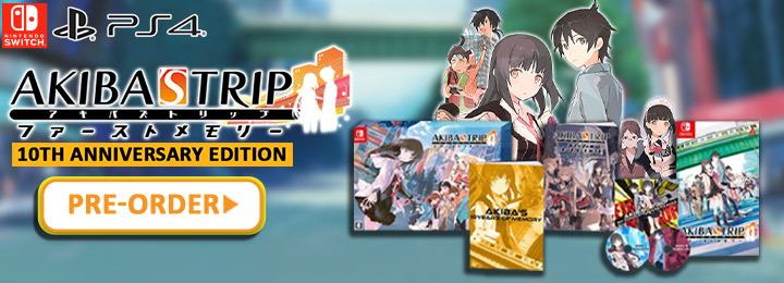 Akiba's Trip: Hellbound & Debriefed, Akiba's Trip, PS4, PlayStation 4, Nintendo Switch, Switch, Japan, gameplay, features, release date, price, trailer, screenshots, Acquire, AKIBA'S TRIP ファーストメモリー