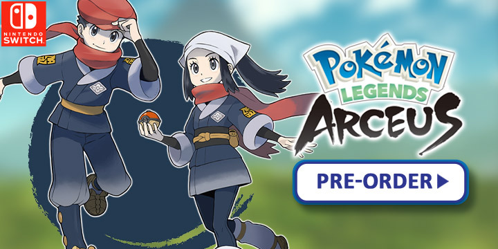 Pokemon, Pokemon Legends, Pokemon Legends: Arceus, Europe, Nintendo Switch, Switch, gameplay, features, release date, price, trailer, screenshots, Nintendo