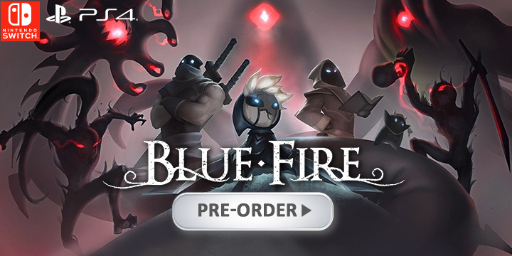 Blue Fire, PlayStation 4, Nintendo Switch, PS4, Switch, US, Europe, gameplay, features, release date, price, trailer, screenshots, Graffiti Games
