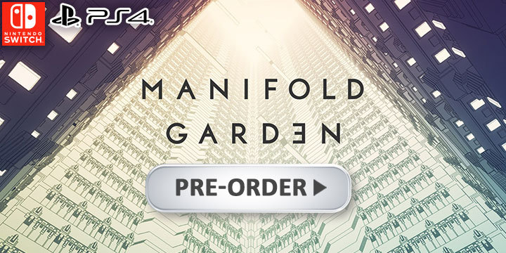 Manifold Garden, PS4, Switch, PlayStation 4, Nintendo Switch, Japan, gameplay, features, release date, price, trailer, screenshots, PLAYISM, マニフォールド ガーデン