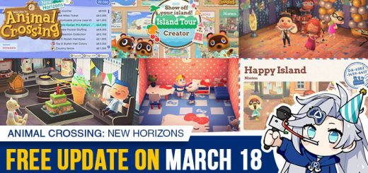 Animal Crossing, Animal Crossing: New Horizons, US, North America, Europe, Japan, gameplay, features, price, pre-order, Nintendo, trailer, news, update, Animal Crossing New Horizons, Animal Crossing 2019, Free Update, Sanrio Sweetness, Anniversary Update
