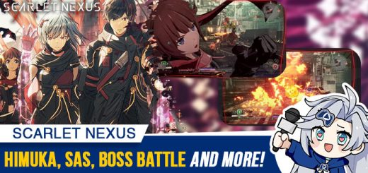 Scarlet Nexus, Bandai Namco, PS4, PlayStation 4, PS5, PlayStation 5, XONE, Xbox One, XSX, Xbox Series X, US, North America, release date, trailer, features, screenshots, pre-order now, news, update, Himuka, SAS, Boss Battles, Gameplay, Struggle Arms System, Special Battle Attire Set
