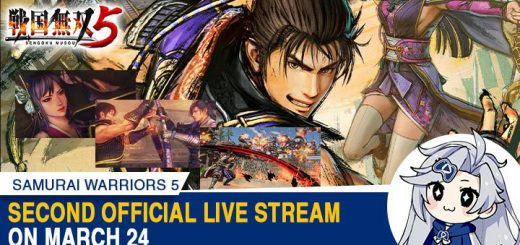 Samurai Warriors 5, Samurai Warriors, PS4, XONE, Switch, PlayStation 4, Xbox One, Nintendo Switch, US, Japan, Asia, gameplay, features, release date, price, trailer, screenshots, Koei Tecmo, Sengoku Musou V, Sengoku Musou, update, online livestream