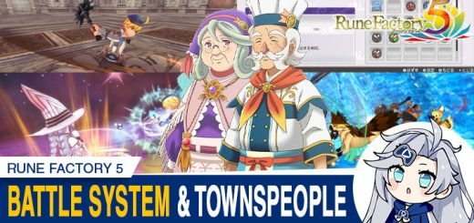 Rune Factory, Rune Factory 5, Nintendo Switch, Switch, Japan, gameplay, features, release date, price, trailer, screenshots, Limited Edition, Standard Edition, news, update, battle System, Combat, Townspeople