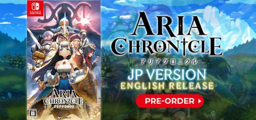 Aria Chronicle, Aria Chronicle for Nintendo Switch, Nintendo Switch, Japan, English, physical release, pre-order, price, trailer, screenshots, features, story, Crest