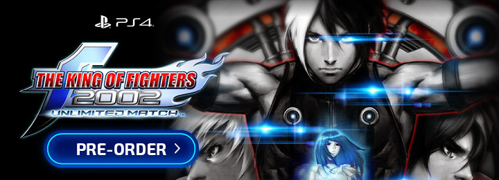 The King Of Fighters 2002 [Unlimited Match], The King Of Fighters 2002, SNK, PS4, PlayStation 4, release date, features, trailer, Japan, pre-order, TKOF, The King Of Fighters 2002 Unlimited Match, The King Of Fighters 2002