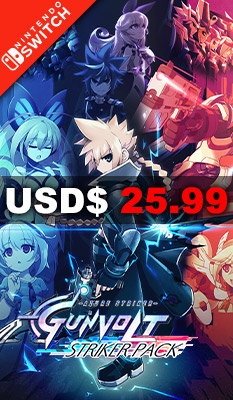 Azure Striker Gunvolt: Striker Pack Nighthawk Interactive