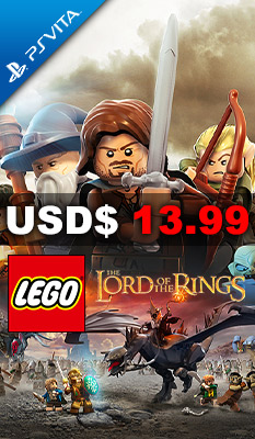 LEGO The Lord of the Rings Warner Home Video Games