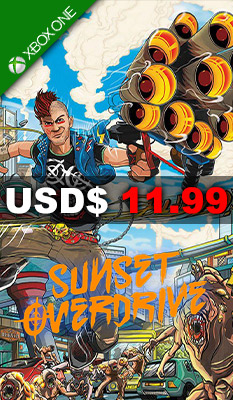 Sunset Overdrive Microsoft