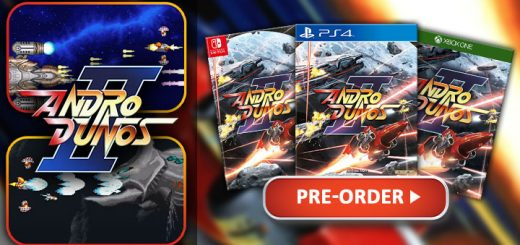 Andro Dunos 2, Andro Dunos II, PixelHeart, visco, PS4, PlayStation 4, Europe, release date, features, price, trailer, pre-order, Switch, Nintendo Switch, XONE, Xbox One