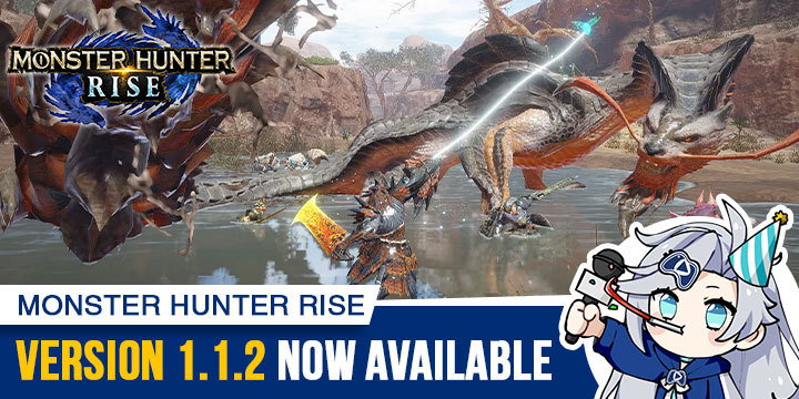 Monster Hunter Rise, Monster Hunter, gameplay, features, price, Capcom, trailer, Nintendo Switch, Switch, Japan, US, Europe, update, version 1.1.2