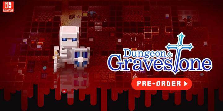 Dungeon and Gravestone, ダンジョンに捧ぐ墓標, Nintendo Switch, Japanese version, English, language, release date, Japan, pre-order, features, screenshots, game, RPG, video game