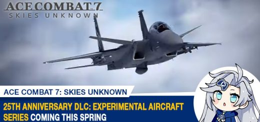 Ace Combat 7: Skies Unknown, Bandai Namco, PlayStation 4, PlayStation VR, Xbox One, PS4, PSVR, XONE, US, Europe, Japan, update, 2nd Anniversary, Experimental Aircraft Series, DLC