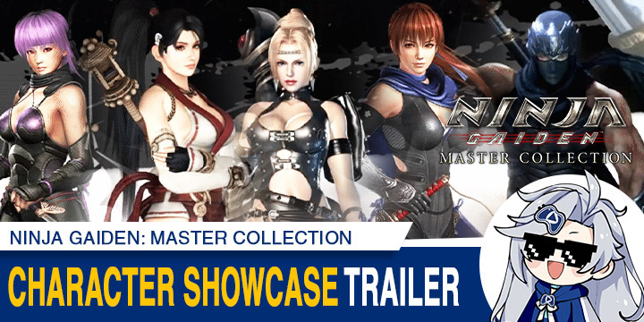 Ninja Gaiden: Master Collection, Ninja Gaiden, Nintendo Switch, Switch, Asia, Koei Tecmo, gameplay, features, release date, price, trailer, screenshots, English support, update, PS4, PlayStation 4, Character Showcase