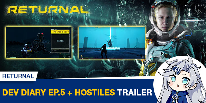 Returnal, PS5, PlayStation 5, Returnal PS5, Europe, US, North America, Japan, Asia, release date, price, pre-order, features, Trailer, Screenshots, Housemarque, Sony Interactive Entertainment, Developer Diary 5, Housecast 5, Hostiles Trailer, news, update