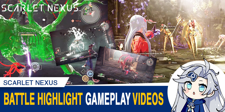 Scarlet Nexus, Bandai Namco, PS4, PlayStation 4, PS5, PlayStation 5, XONE, Xbox One, XSX, Xbox Series X, US, North America, release date, trailer, features, screenshots, pre-order now, news, update, Gameplay video, Battle Highlights, Museum, Hospital