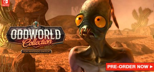 Oddworld Collection, Switch, Nintendo Switch, Europe, release date, gameplay, price, pre-order now, Microids, Screenshots, Oddworld: Abe's Oddysee - New 'n' Tasty, Oddworld: Munch's Oddysee, Oddworld: Stranger's Wrath, Collection, Oddworld