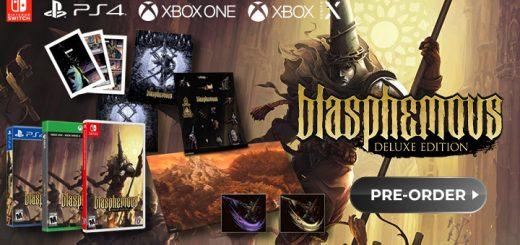 Blasphemous [Deluxe Edition], Blasphemous, PS4, PlayStation 4, Switch, Nintendo Switch, XONE, Xbox One, XSX, Xbox Series X, Sold Out Uk, Team 17, Europe, release date, trailer, features, screenshots, pre-order now