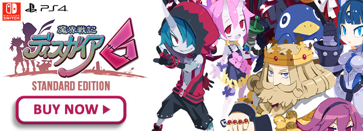 Disgaea, Disgaea 6, Disgaea 6: Defiance of Destiny, Nippon Ichi Software, Switch, Nintendo Switch, Japan, PS4, PlayStation 4, release date, gameplay, features, price, screenshots, trailer, Standard Edition, Limited Edition, Disgaea 6 [Limited Edition], North America, US