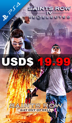 Saints Row IV: Re-Elected + Gat Out of Hell Deep Silver