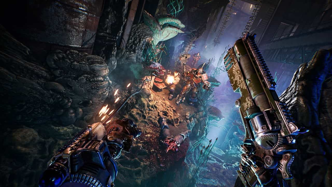 Necromunda: Hired Gun, PS4, PS5, XONE, XSX, Xbox One, PlayStation 4, PlayStation 5, Europe, release date, price, pre-order, tailer, features, Screenshots, Necromunda Hired Gun, Necromunda, Focus Home Interactive, Streumon Studio
